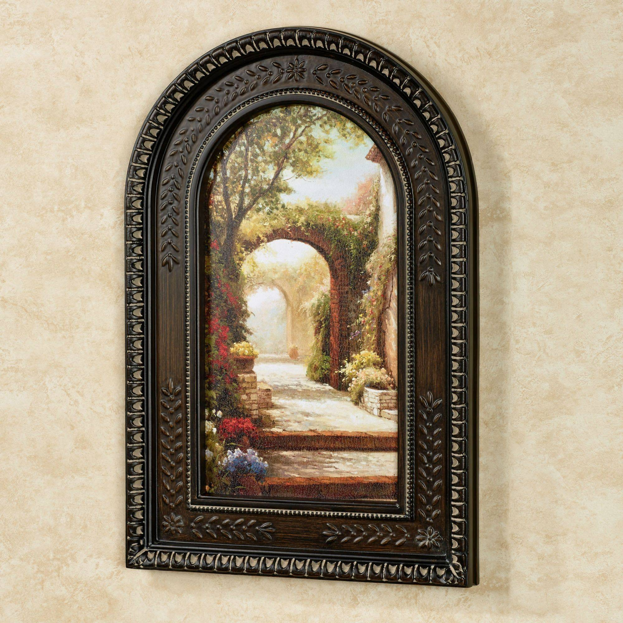Wall Design: Arch Wall Decor Pictures (View 14 of 30)