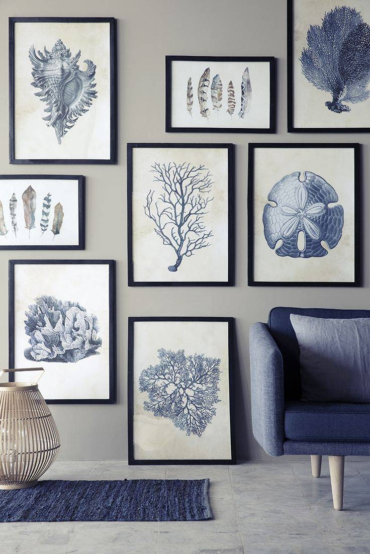 Wall Design: Blue Wall Art Decor Pictures. Wall Decor (View 19 of 20)