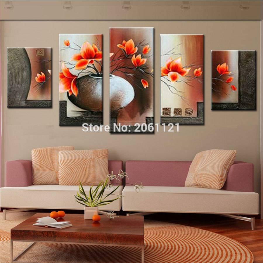 Wall Design: Cheap Abstract Wall Art Photo (View 5 of 20)