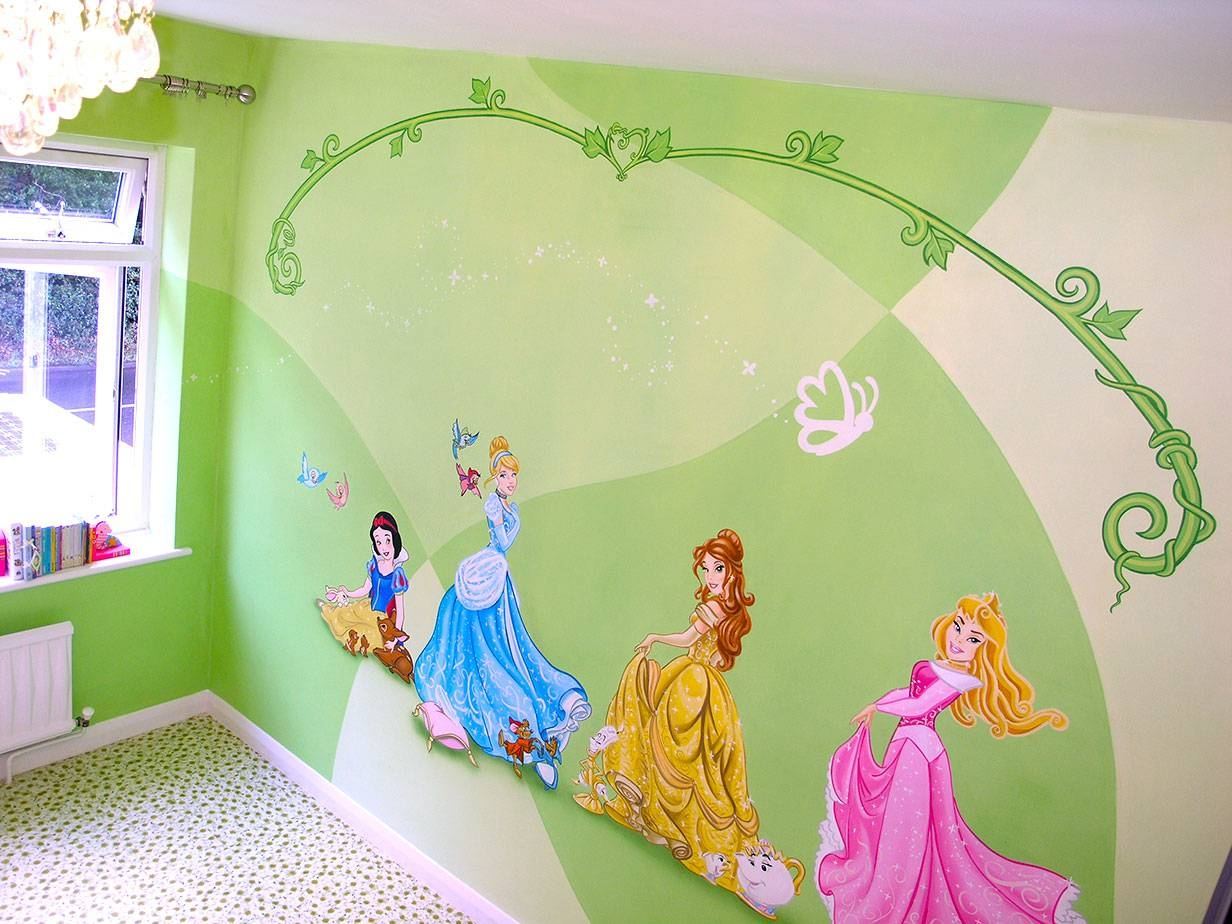Wall Design: Disney Princess Wall Art Pictures (View 18 of 20)