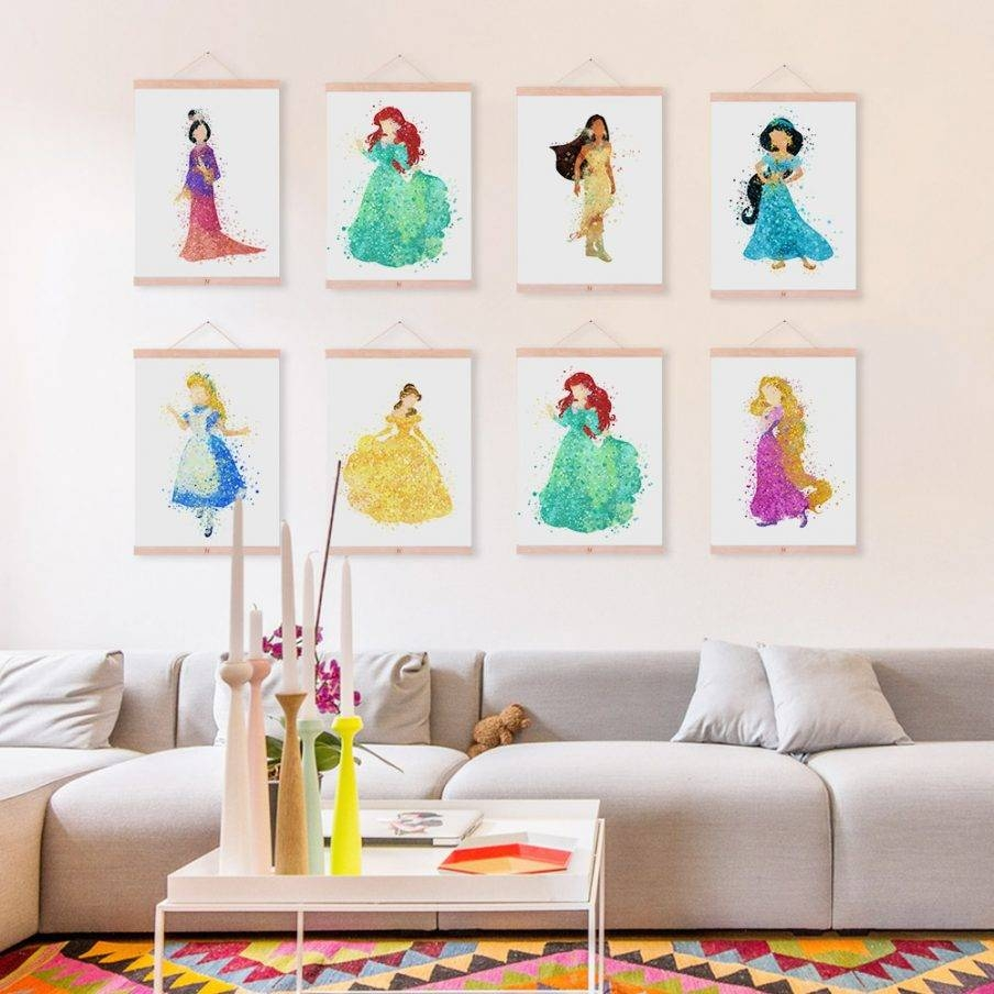 Wall Design: Disney Princess Wall Art Pictures (View 19 of 20)