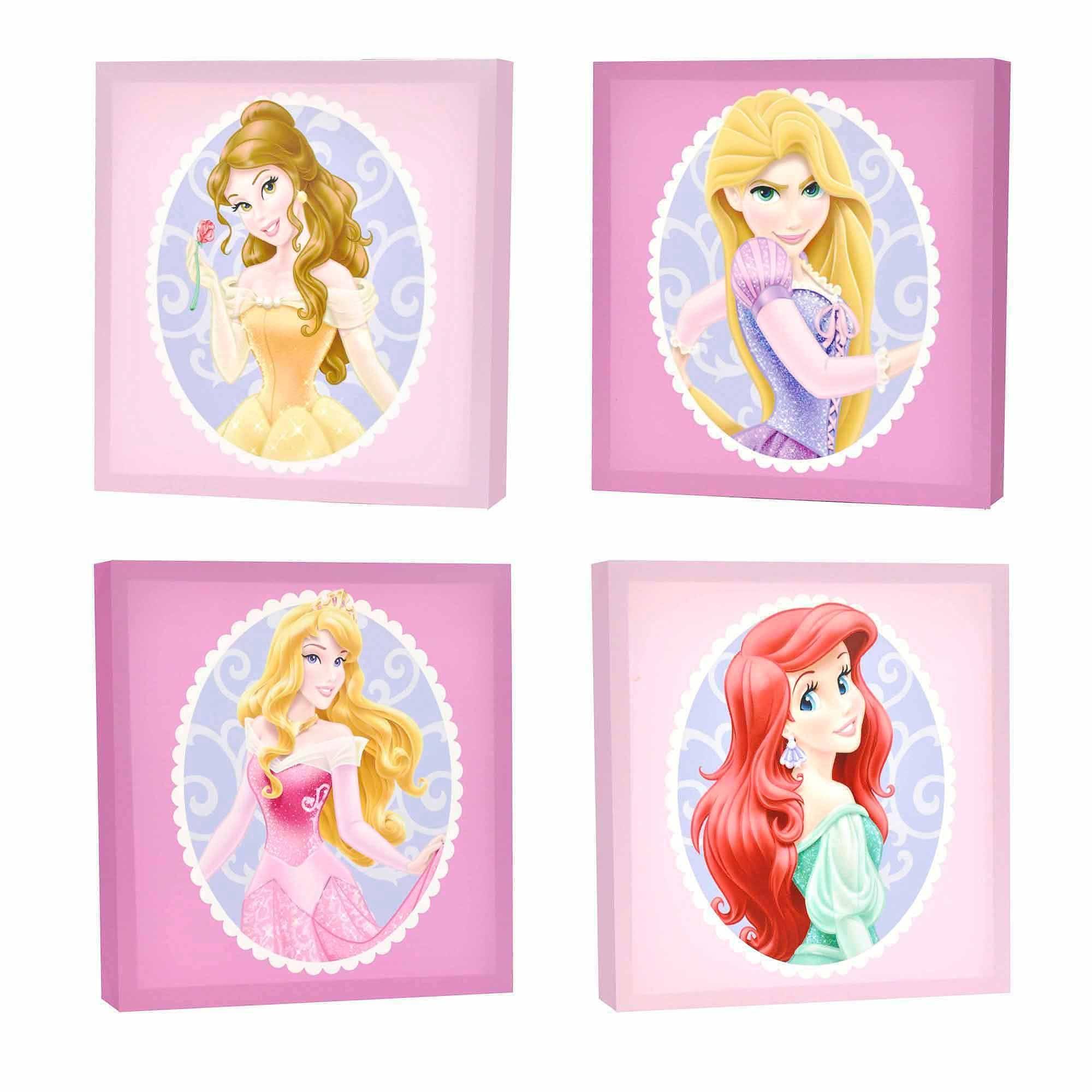 Featured Photo of Disney Princess Framed Wall Art