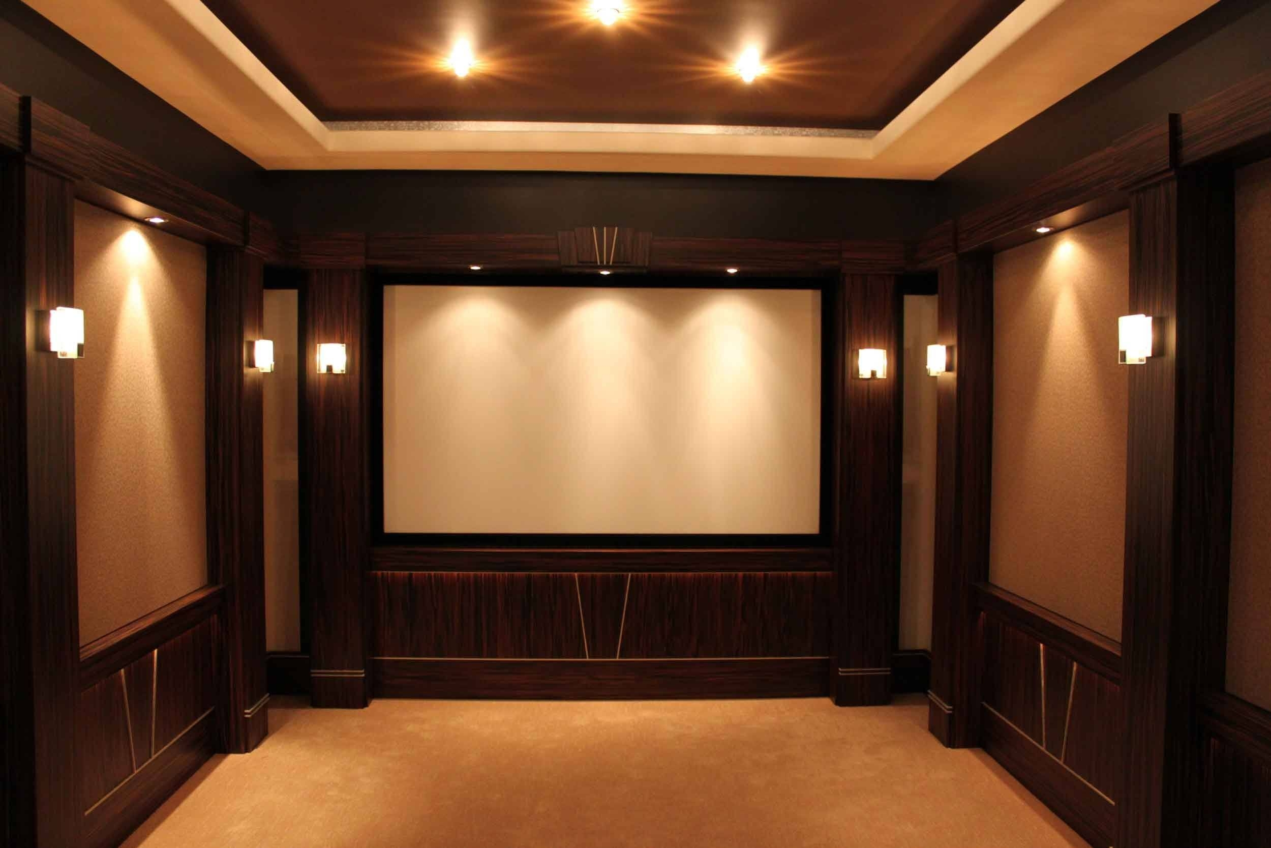 Wall Design: Home Theater Wall Decor Photo (View 24 Of 30)