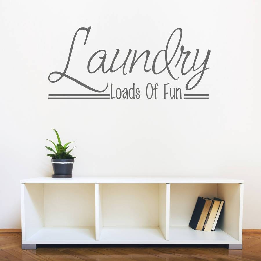 Wall Design: Laundry Room Wall Art Images (View 5 of 30)