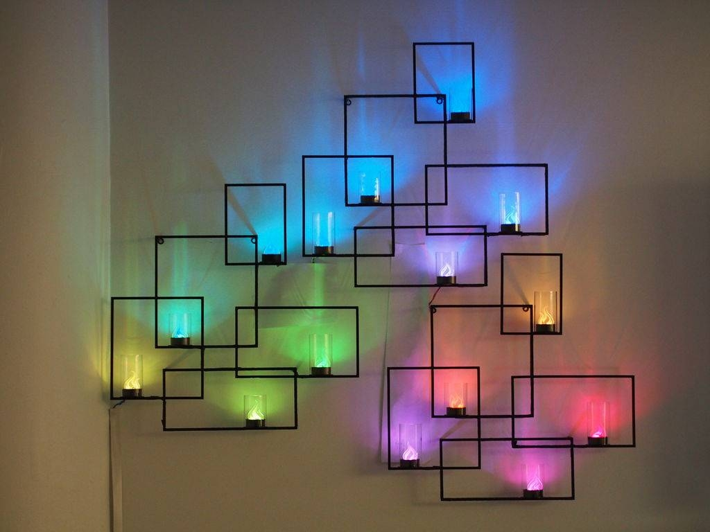 Wall Design: Led Wall Art Pictures. Led Wall Art Diy (View 26 of 30)