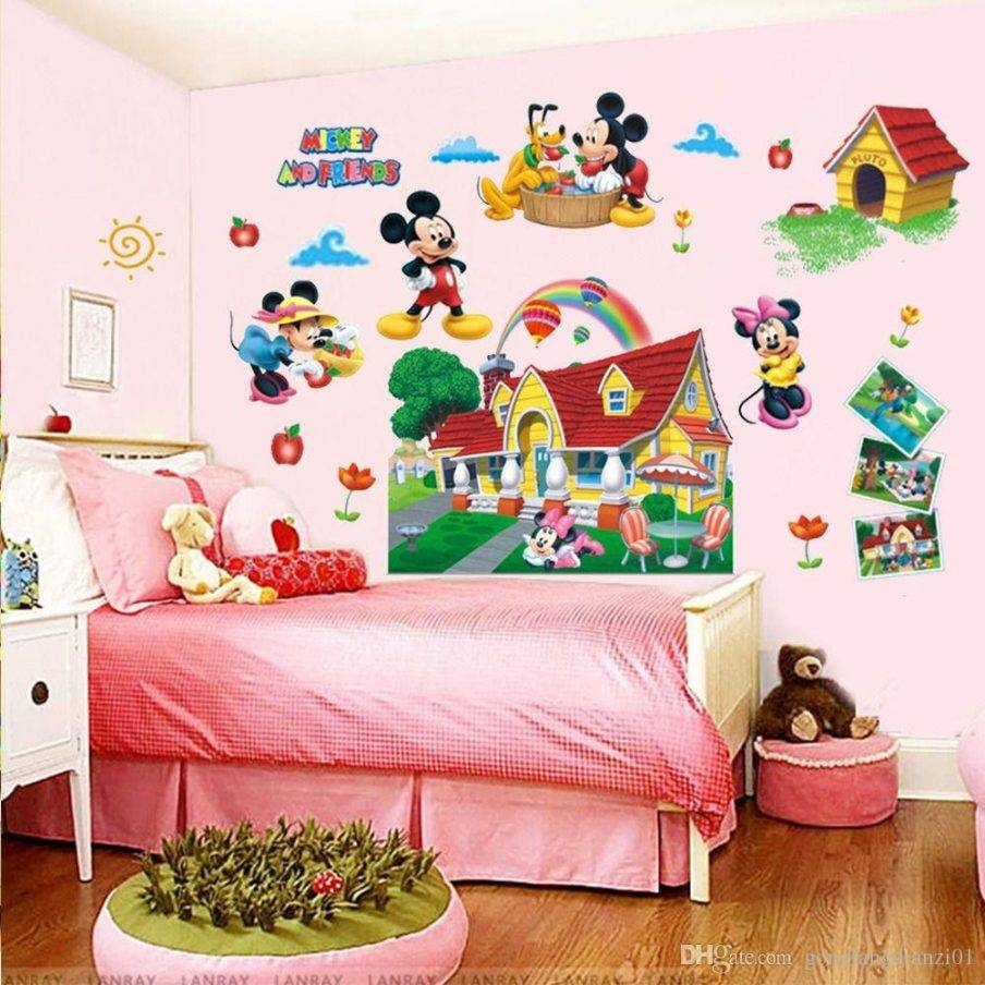 Wall Design: Mickey Mouse Wall Art Pictures (View 20 of 20)