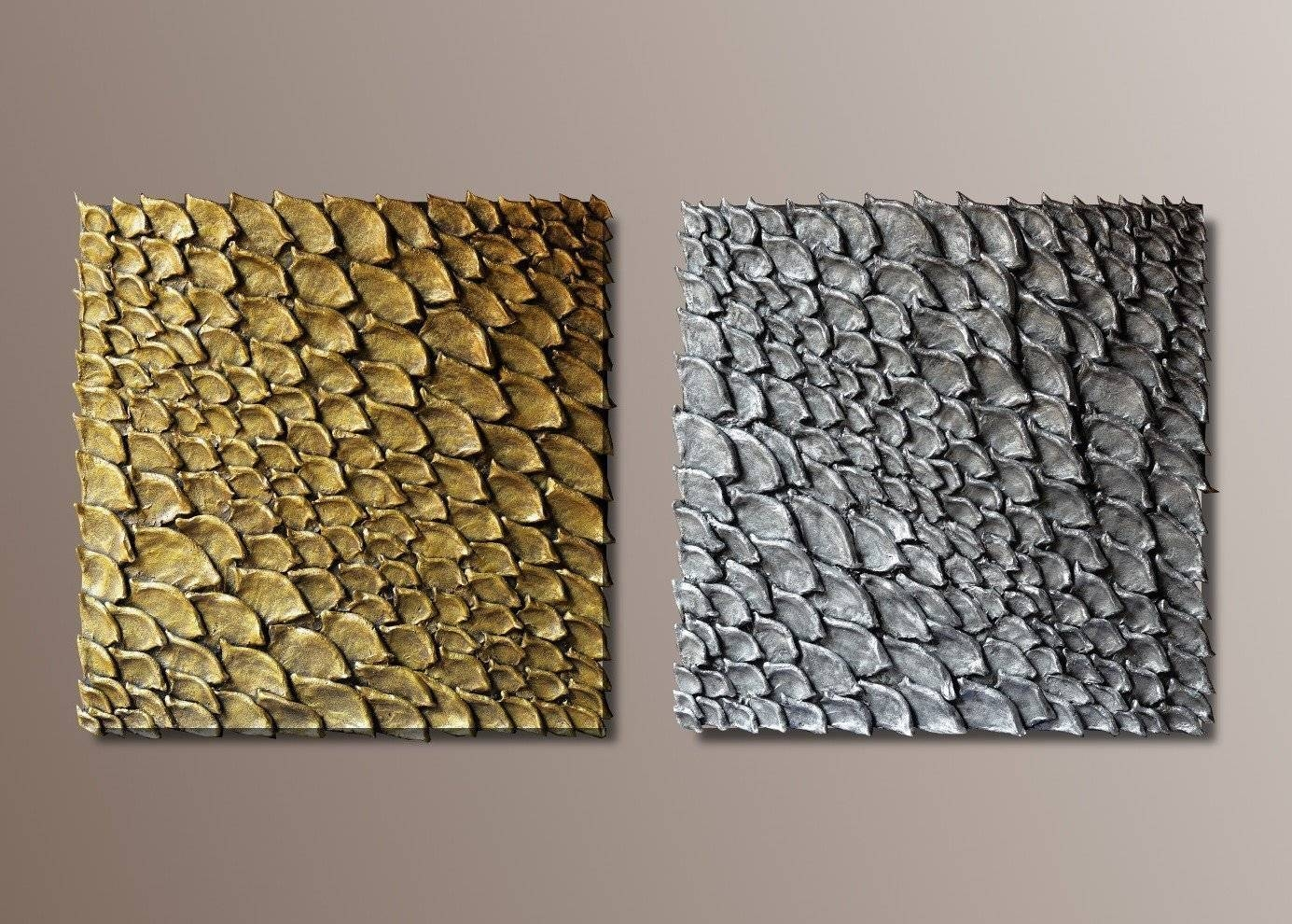 The best silver and gold wall art for Silver wall art