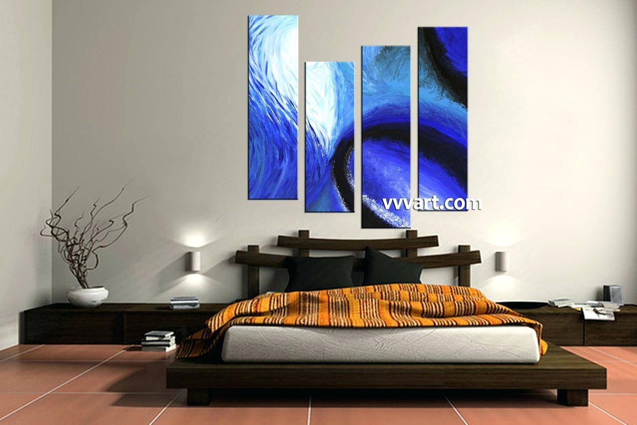 Wall Ideas : 4 Piece Abstract Wall Art 4 Piece Framed Wall Art With Latest 4 Piece Canvas Art Sets (Gallery 12 of 25)