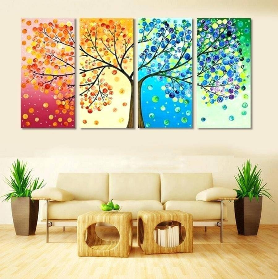 Wall Ideas : 4 Piece Metal Wall Art Wildlife Group Canvas Home Intended For Most Recent 4 Piece Canvas Art Sets (Gallery 7 of 25)