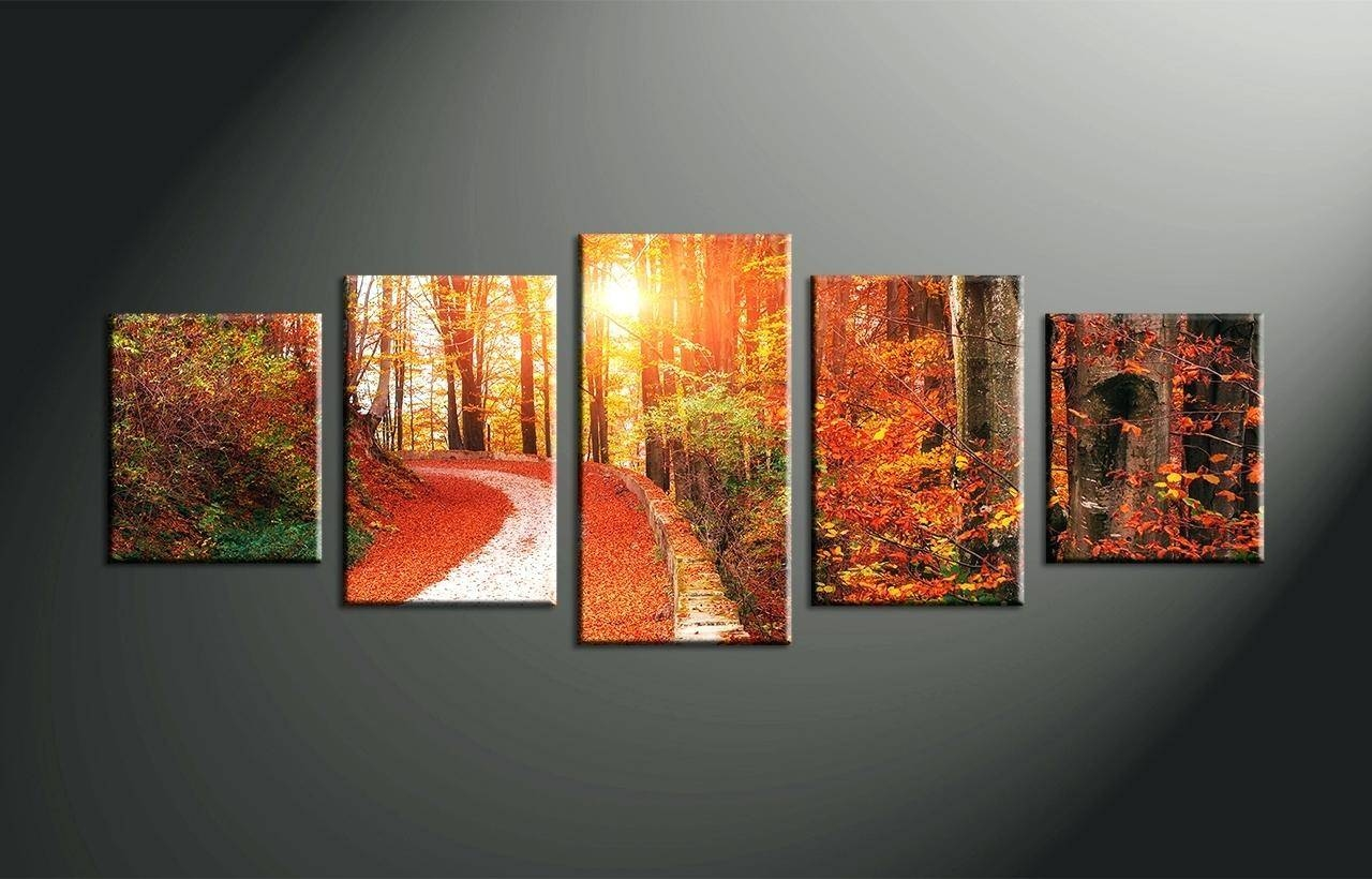 Wall Ideas : 4 Piece Metal Wall Art Wildlife Group Canvas Home With Most Popular 4 Piece Canvas Art Sets (Gallery 4 of 25)