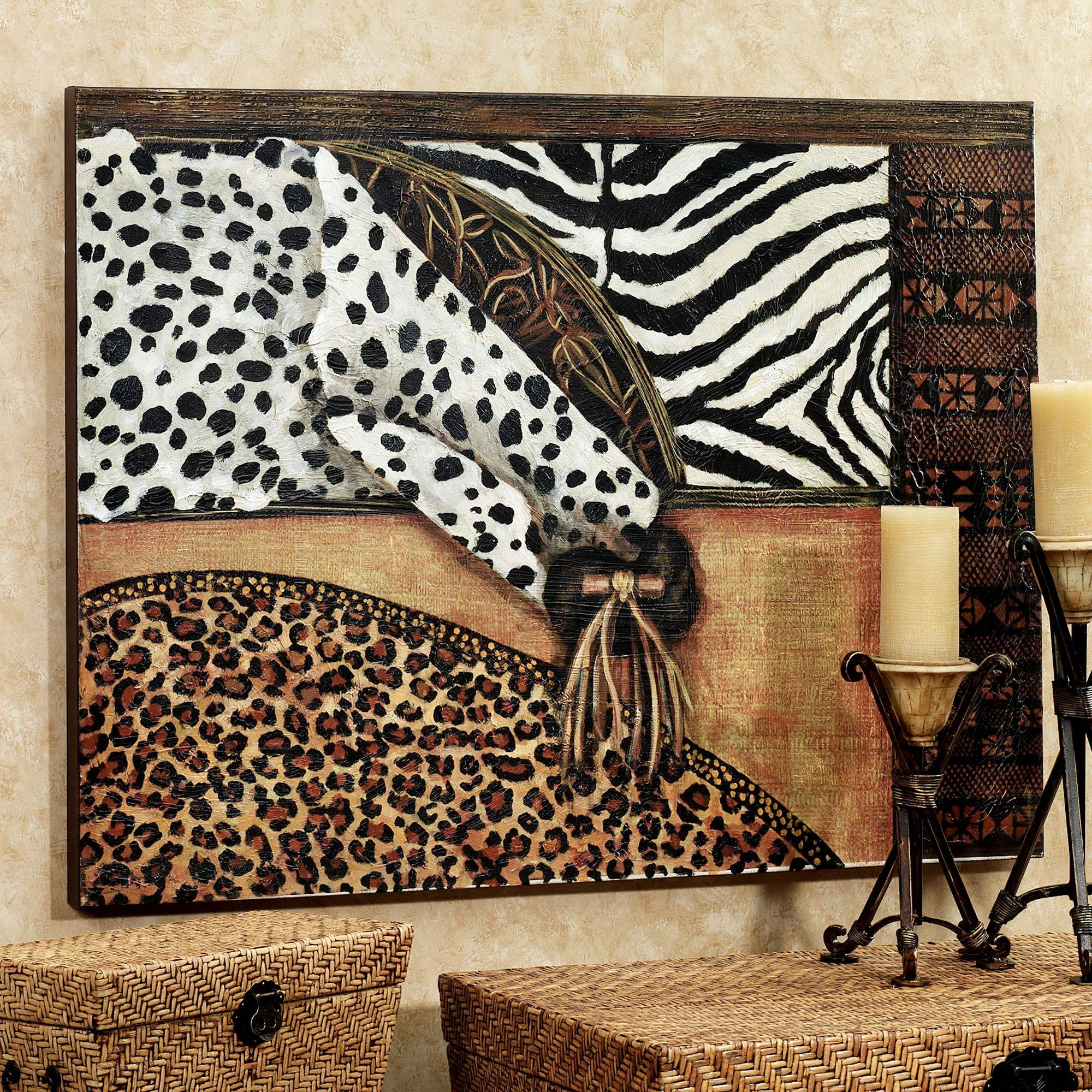 Wall Ideas: Animal Print Wall Art Images (View 17 of 25)