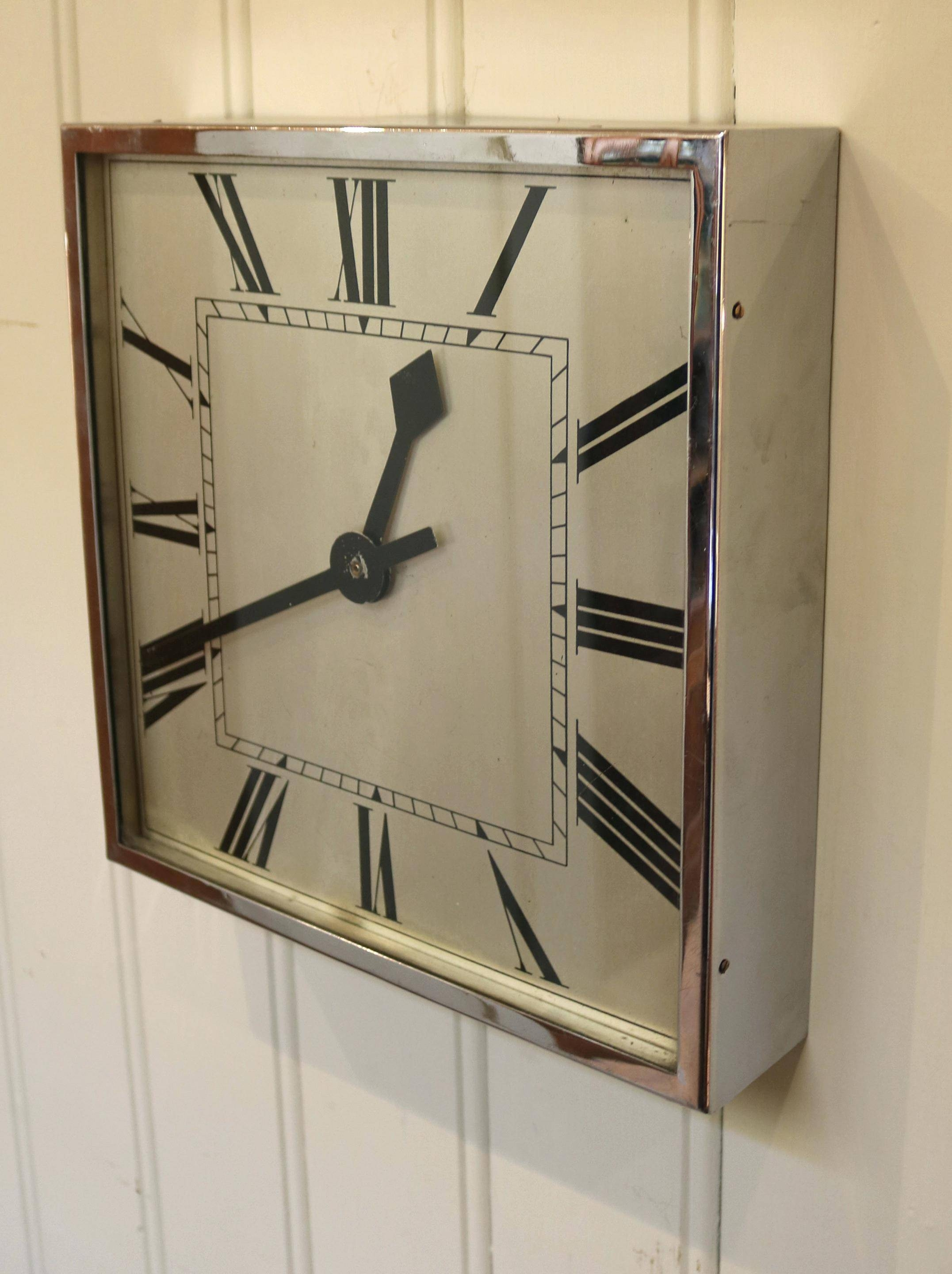 Wall Ideas: Art Deco Wall Clock (View 29 of 30)