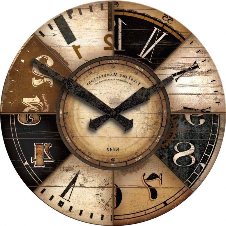Wall Ideas : Art Deco Wall Clock Art Deco Wall Clock Sticker Art Intended For Most Popular Large Art Deco Wall Clocks (View 12 of 30)