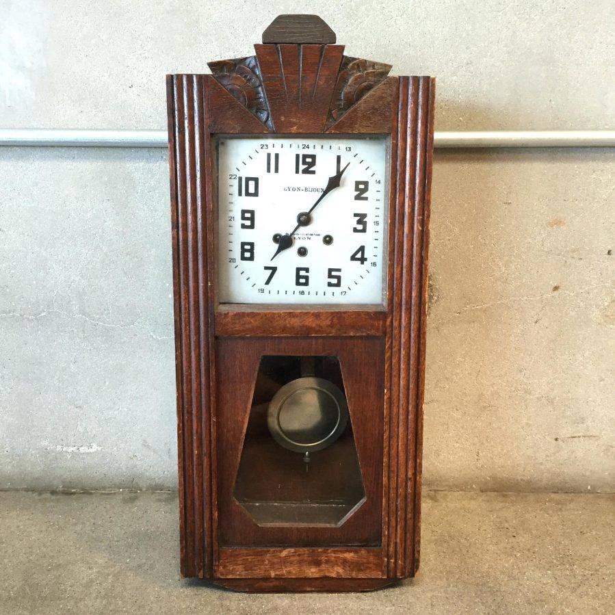 Wall Ideas : Art Deco Wall Clock Sticker Art Deco Wall Clocks Ebay In Most Current Large Art Deco Wall Clocks (View 11 of 30)