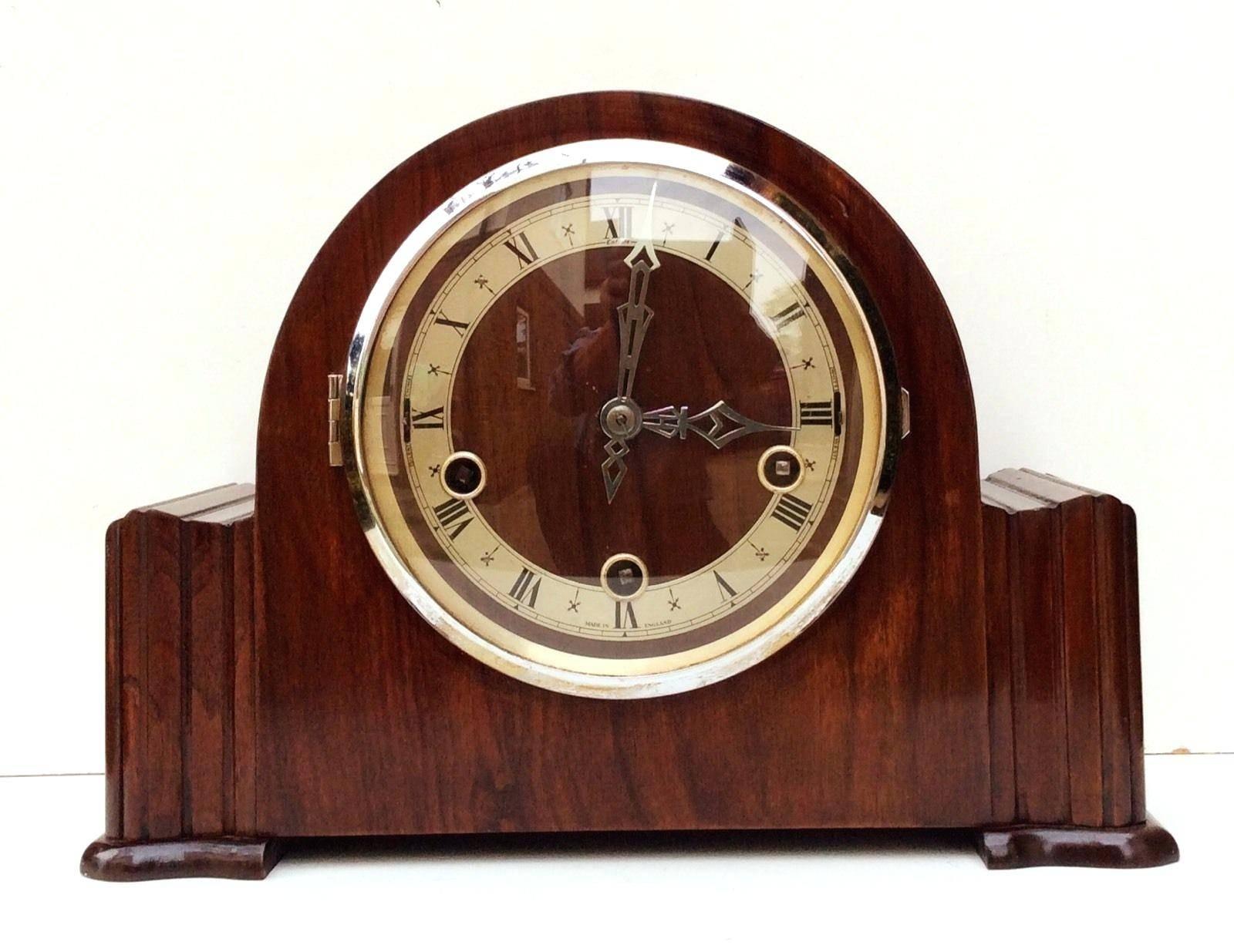 Wall Ideas : Art Deco Wall Clock Sticker Art Deco Wall Clocks Ebay Regarding Recent Large Art Deco Wall Clocks (View 7 of 30)