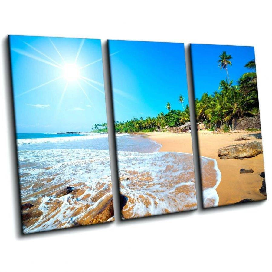 Wall Ideas: Beach Wall Art. Beach Life Canvas Wall Art (View 29 of 30)