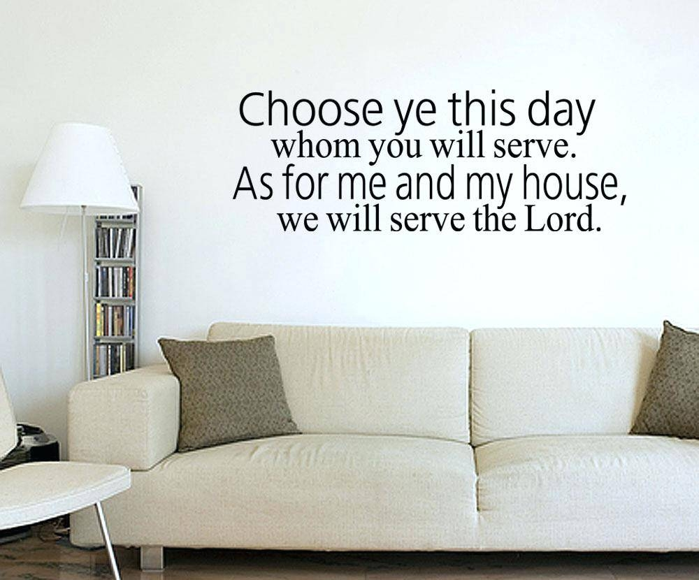 Wall Ideas: Bible Verse Wall Decor (View 27 of 30)