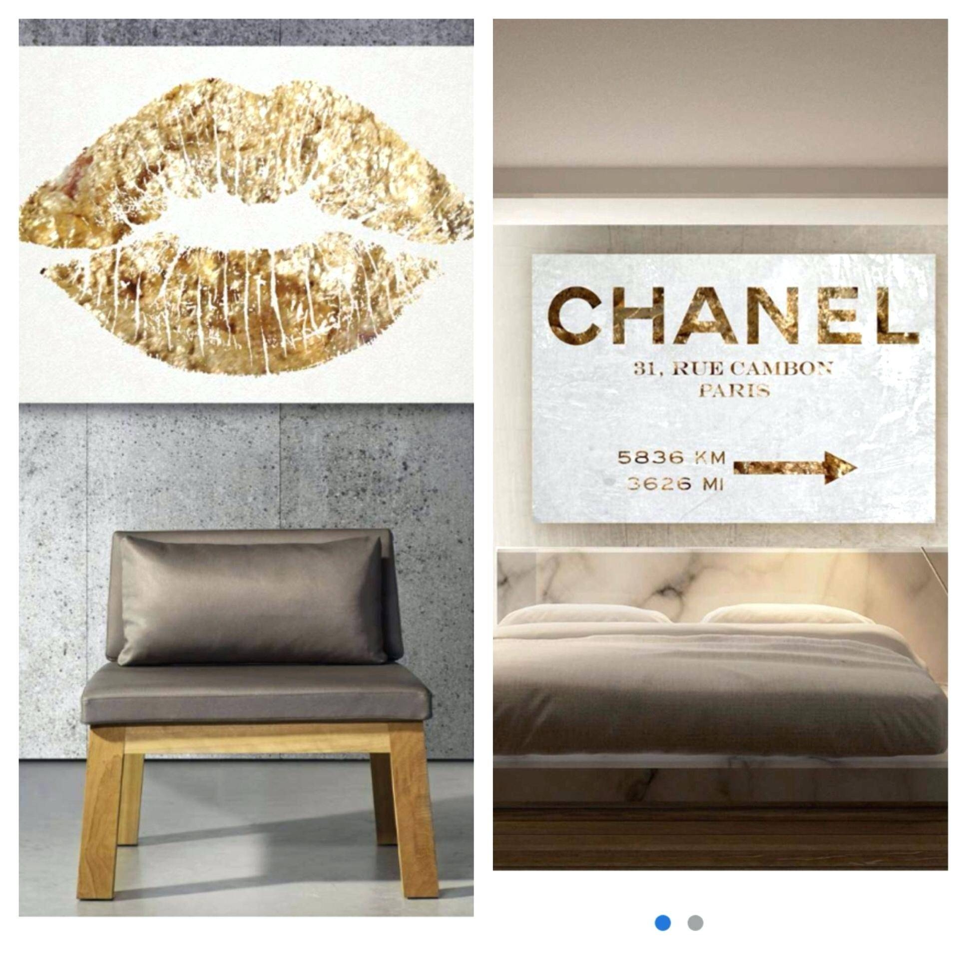 Wall Ideas : Coco Chanel Wall Art Stickers Chanel Wall Art From Inside 2017 Coco Chanel Wall Stickers (View 10 of 30)