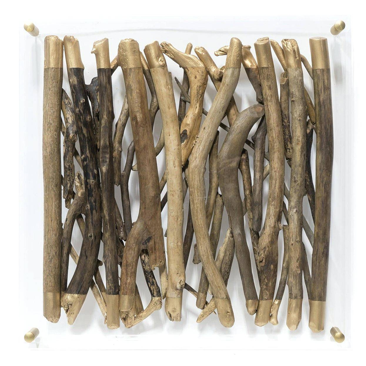 Wall Ideas : Driftwood Peace Sign Wall Decor White Driftwood Wall With Regard To Most Recent Driftwood Wall Art For Sale (View 22 of 30)
