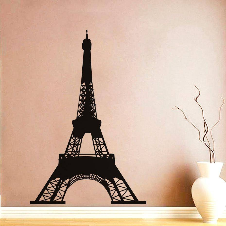 Wall Ideas: Eiffel Tower Wall Decor (View 29 of 30)