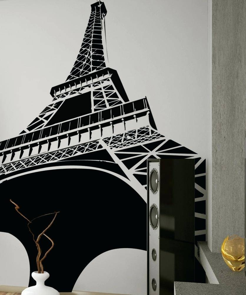 Wall Ideas: Eiffel Tower Wall Decor (View 5 of 30)
