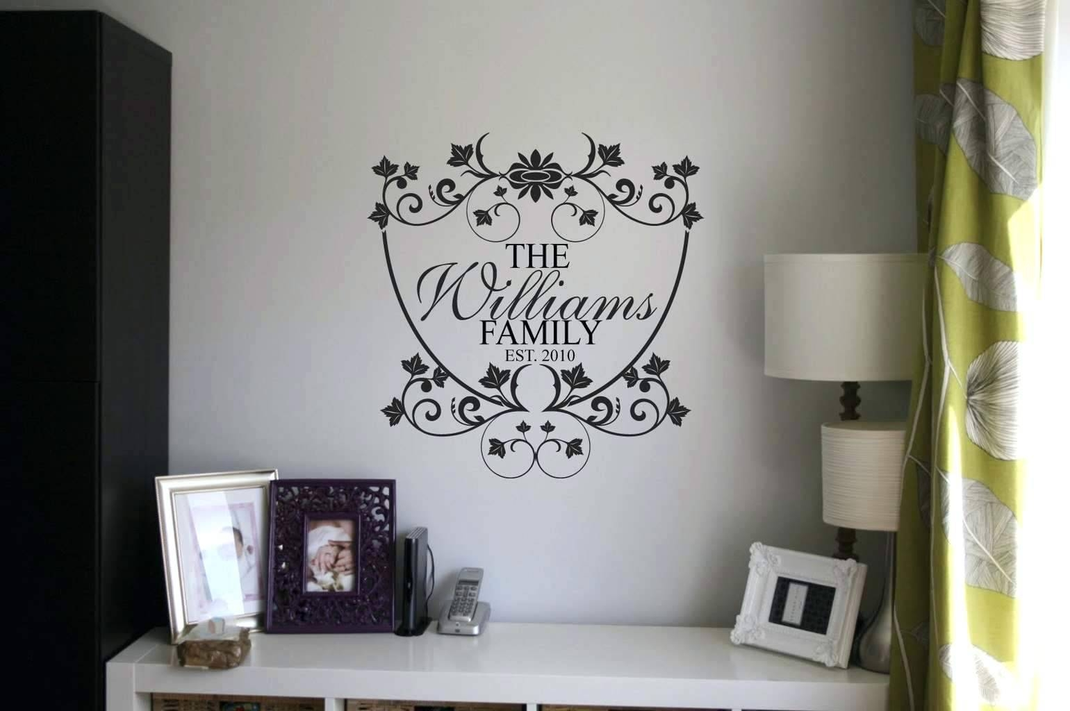 Wall Ideas: Family Name Wall Art (View 24 of 25)