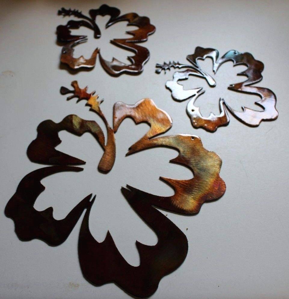 Wall Ideas: Flower Metal Wall Art (View 24 of 25)