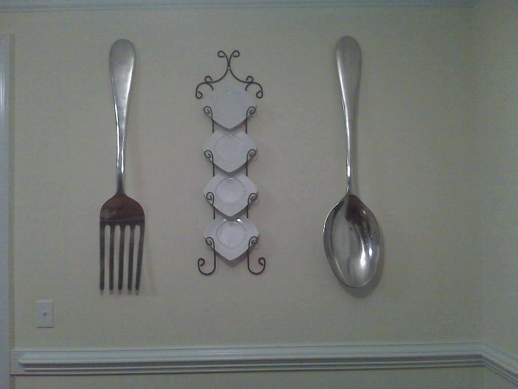 Wall Ideas: Fork Wall Decor. Large Metal Fork Wall Decor (View 20 of 30)