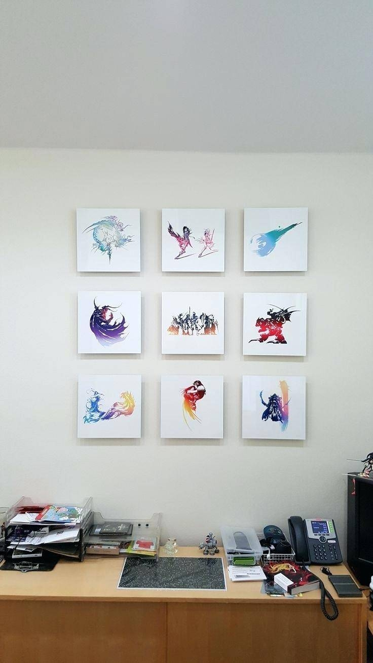 Wall Ideas : Game Room Wall Art Video Game Wall Art Video Game With Regard To Recent Video Game Wall Art (View 17 of 30)