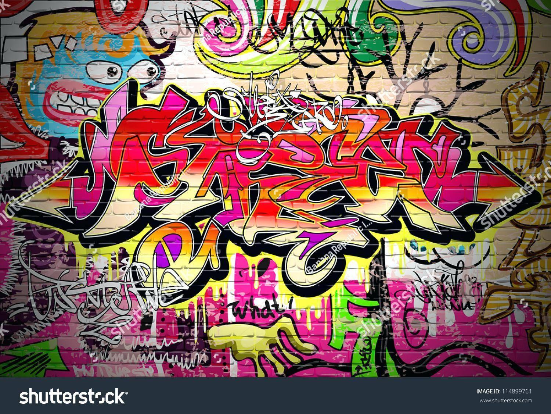 Wall Ideas : Graffiti Art Wall Decal Graffiti Wall Art Graffiti Intended For Most Popular Graffiti Wall Art Stickers (View 10 of 30)
