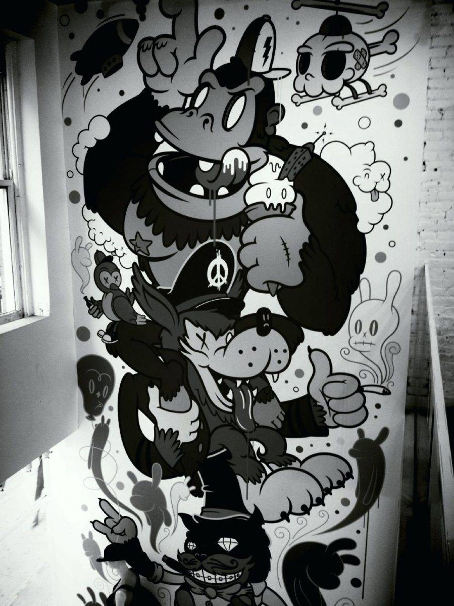 Wall Ideas : Graffiti Art Wall Decal Graffiti Wall Art Graffiti Throughout Newest Graffiti Wall Art Stickers (View 27 of 30)