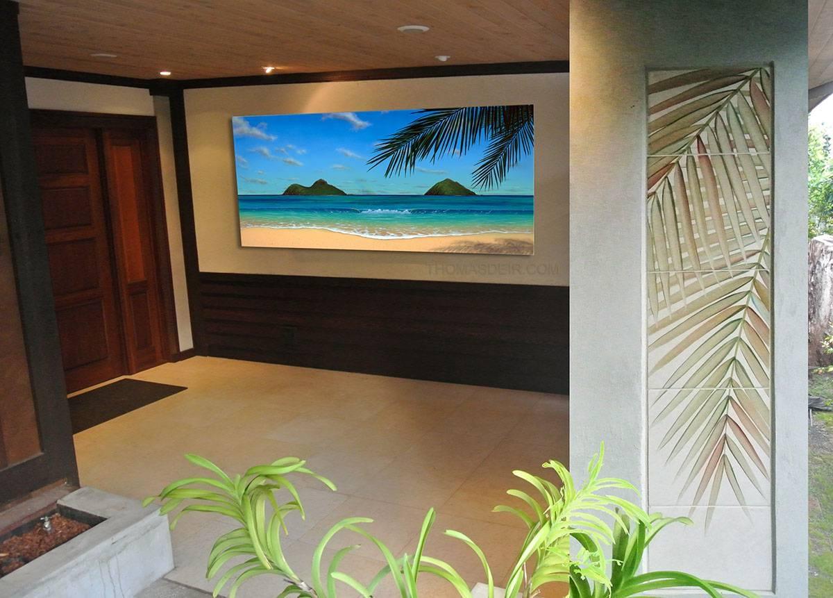 Wall Ideas: Hawaiian Wall Decor Images. Design Ideas (View 2 of 30)