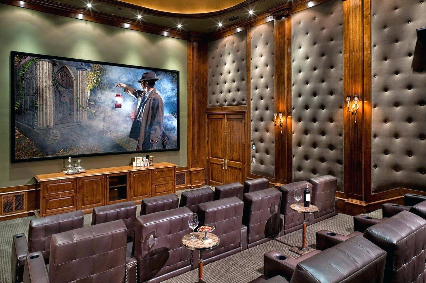 Wall Ideas: Home Theater Wall Panels (View 29 of 30)
