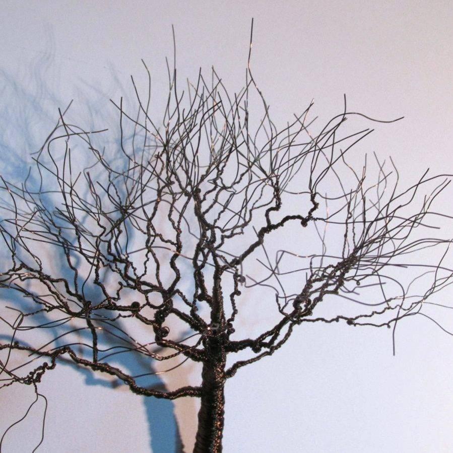 Wall Ideas : Lakewood Tree Metal Wall Sculpture Art Metal Tree With Regard To Most Recent Oak Tree Metal Wall Art (View 24 of 30)