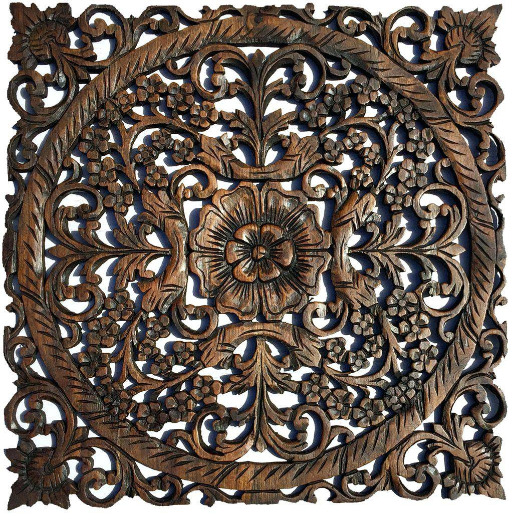 Wall Ideas : Large Square Metal Wall Decor Square Metal Wall Art With Most Recently Released Asian Metal Wall Art (View 19 of 30)