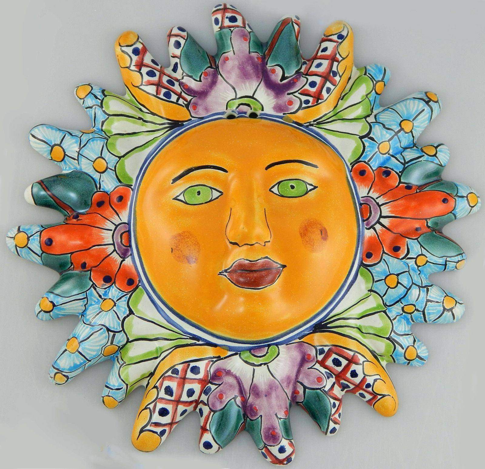 Wall Ideas : Large Sun Face Wall Decor Large Metal Sun Face Pertaining To Recent Mexican Metal Art (View 26 of 30)