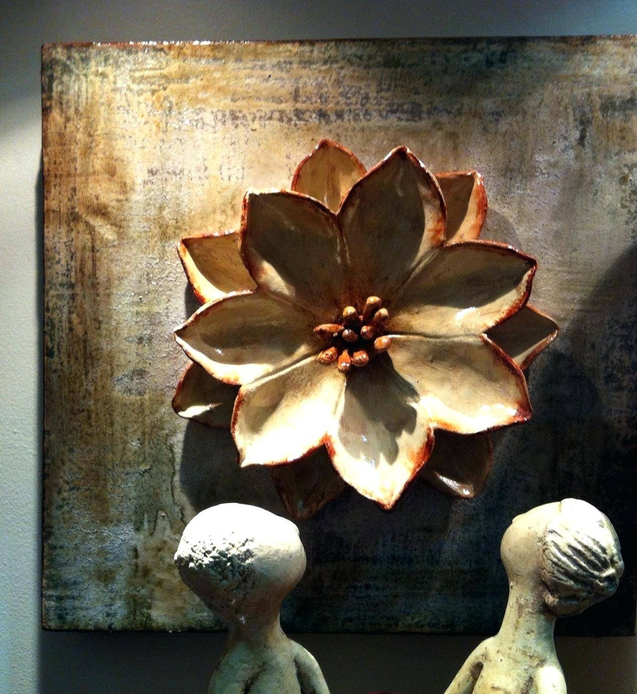 Wall Ideas: Lotus Flower Wall Art (View 30 of 30)