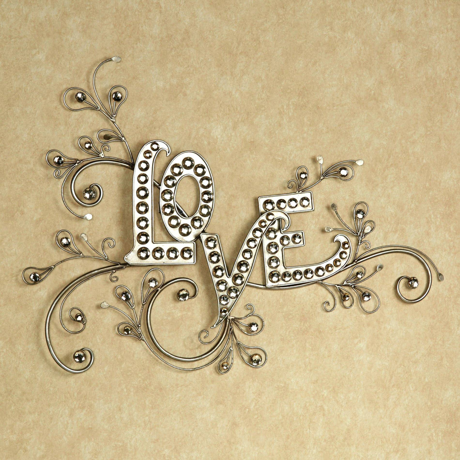 25 Best Collection of Live Love Laugh Metal Wall Art