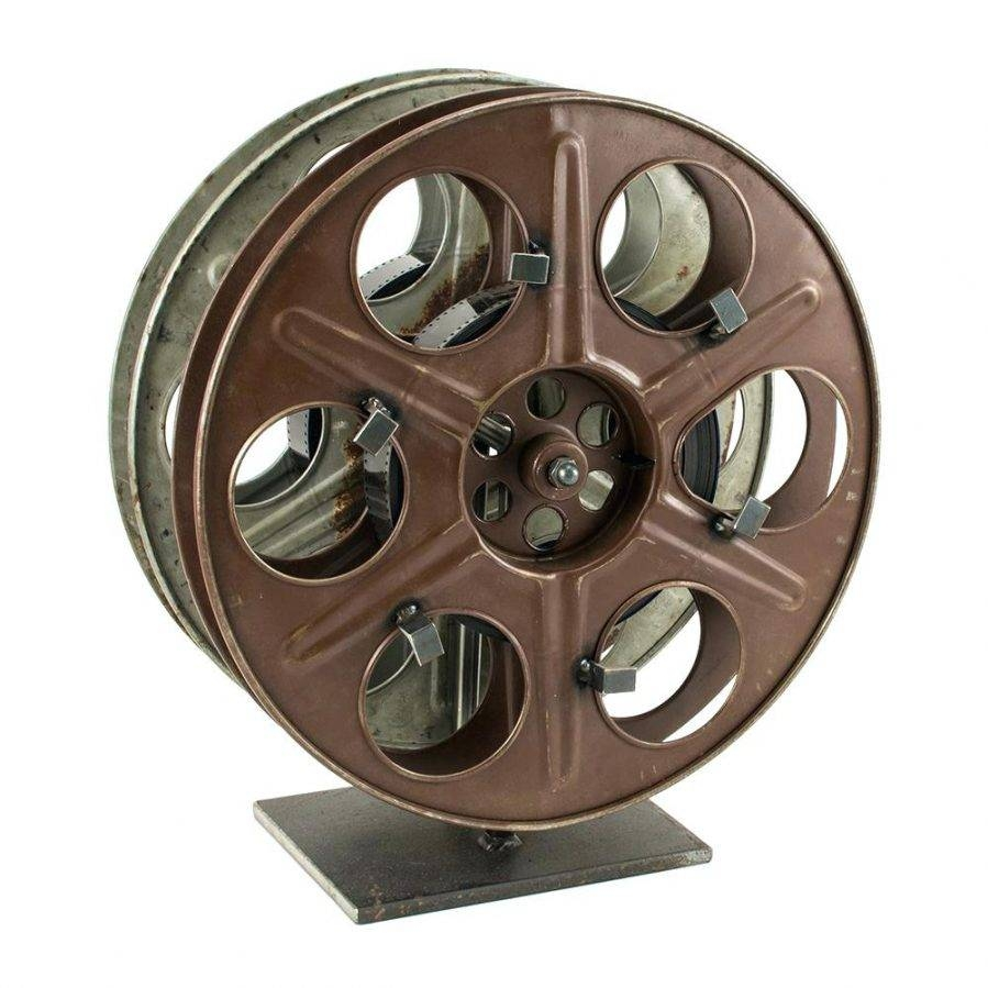Wall Ideas : Metal Film Reel Wall Decor Metal Movie Reel Wall For Recent Film Reel Wall Art (View 6 of 30)