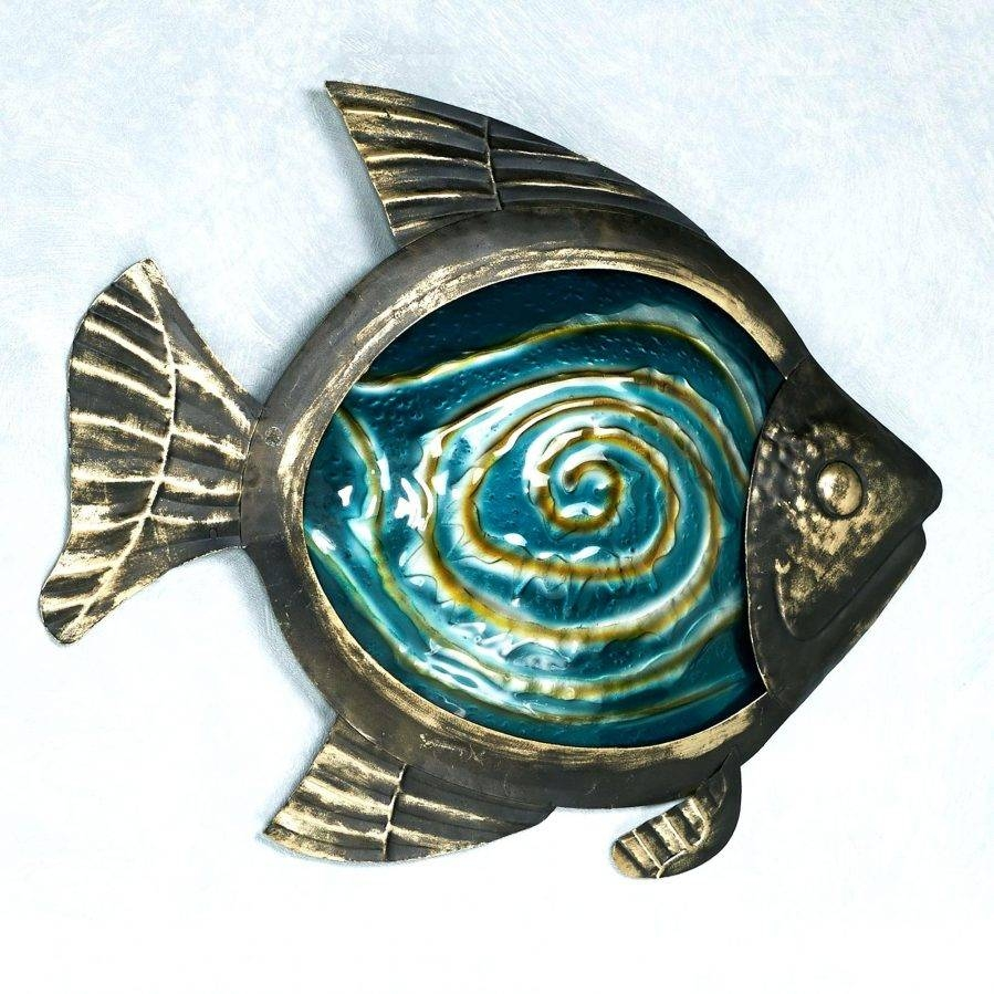 Wall Ideas : Metal Fish Wall Art For Sale School Of Fish Metal For 2018 Fish Shoal Metal Wall Art (View 14 of 30)