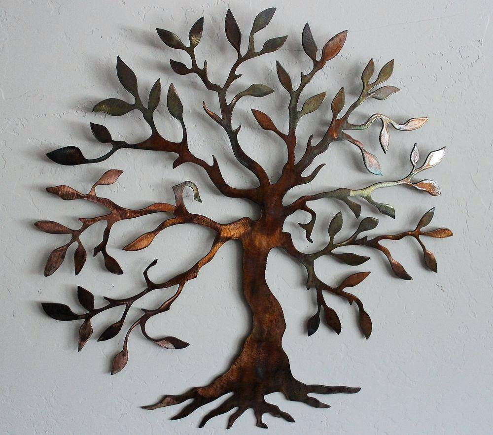 Wall Ideas : Metal Flower Wall Art Hobby Lobby Metal Flower Wall With Latest Kohls Metal Tree Wall Art (View 23 of 30)