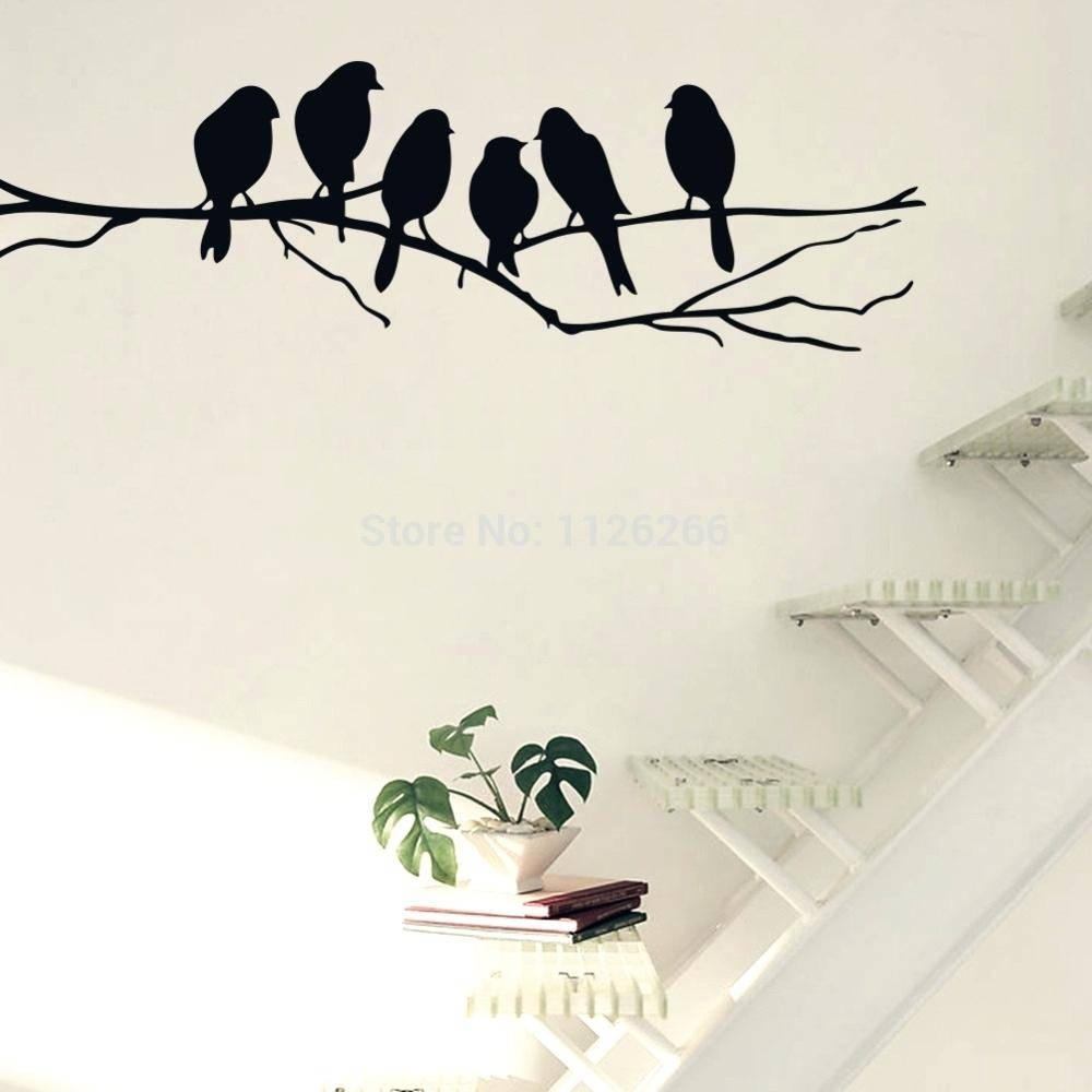 Wall Ideas : Metal Flying Birds Wall Decor Two Kookaburras On A For Current Target Bird Wall Decor (View 7 of 30)