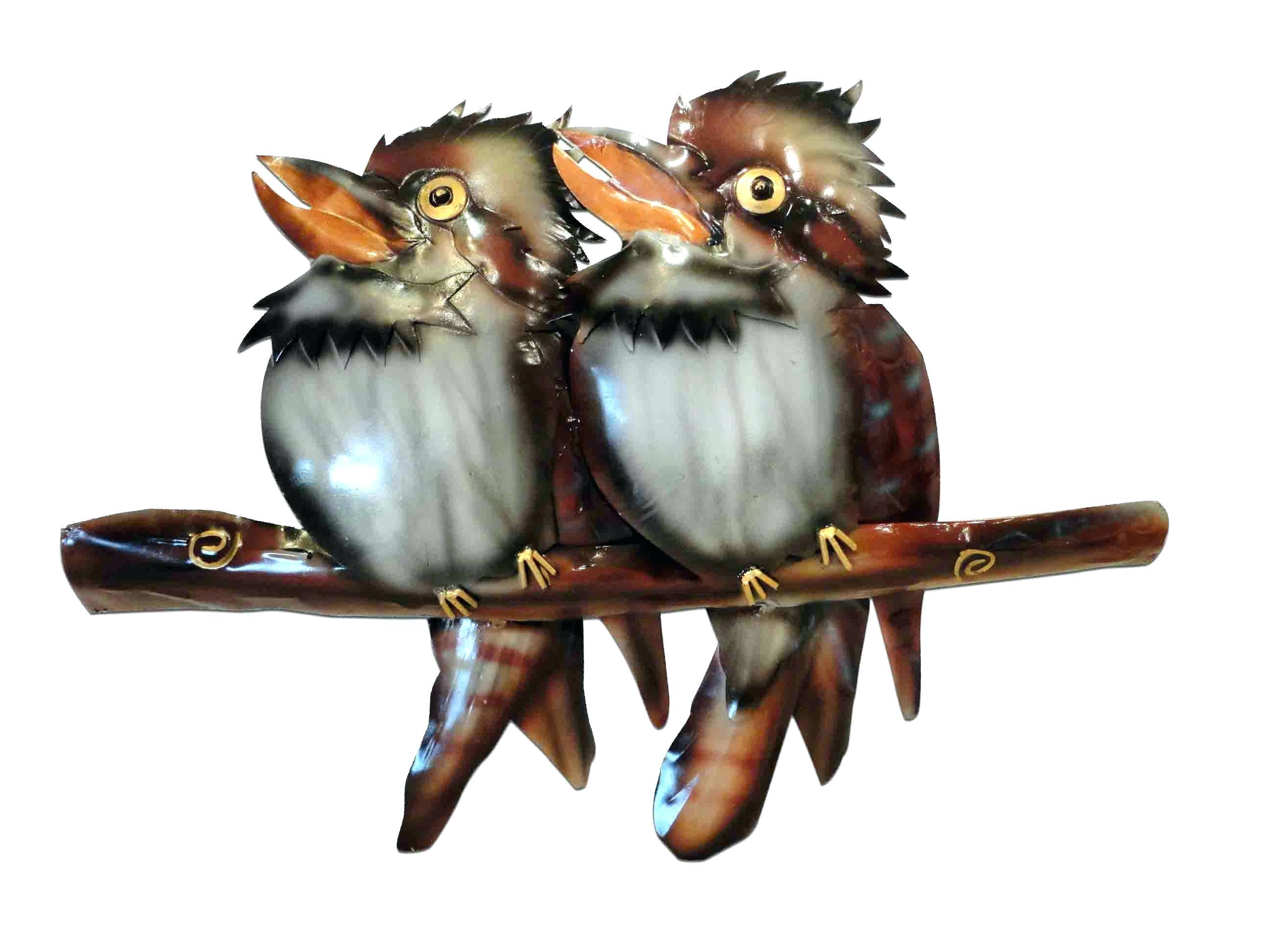Wall Ideas : Metal Flying Birds Wall Decor Two Kookaburras On A With Most Recently Released Target Bird Wall Decor (View 27 of 30)