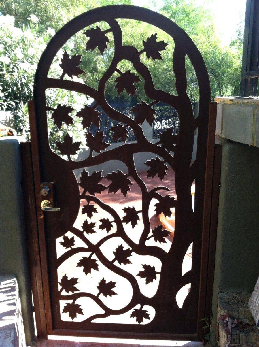 Wall Ideas : Metal Gate Wall Decor Metal Garden Gate Wall Decor Within Most Up To Date Metal Gate Wall Art (View 23 of 32)