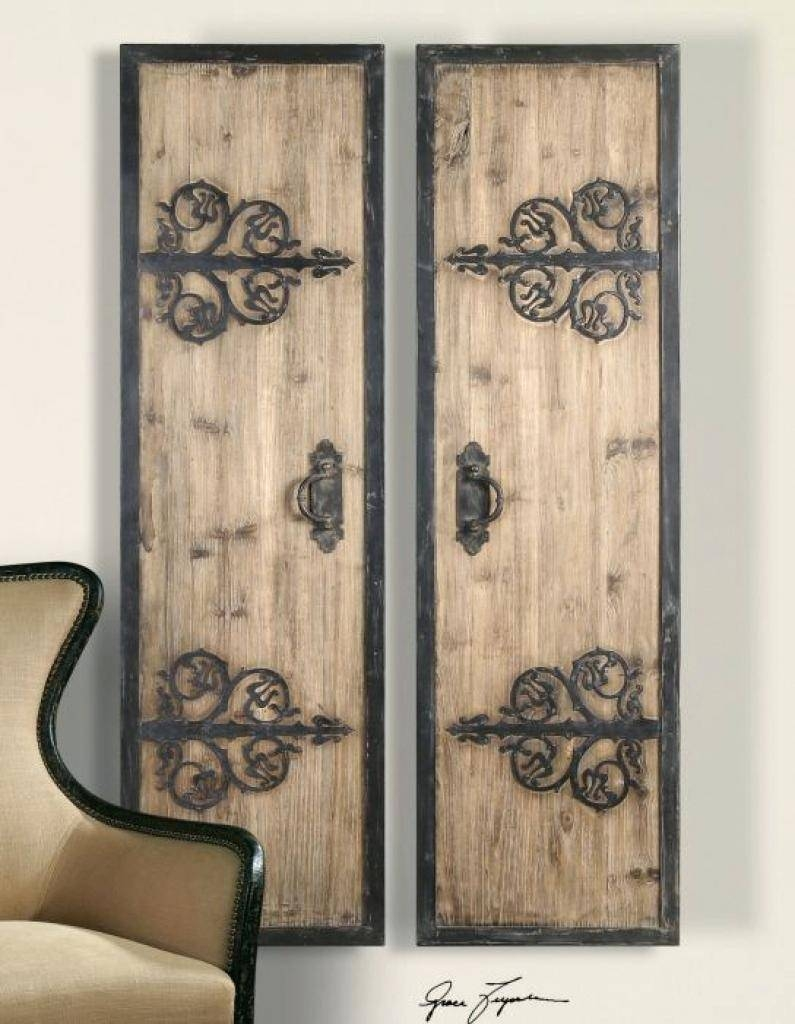 Wall Ideas: Metal Gate Wall Decor (View 4 of 25)
