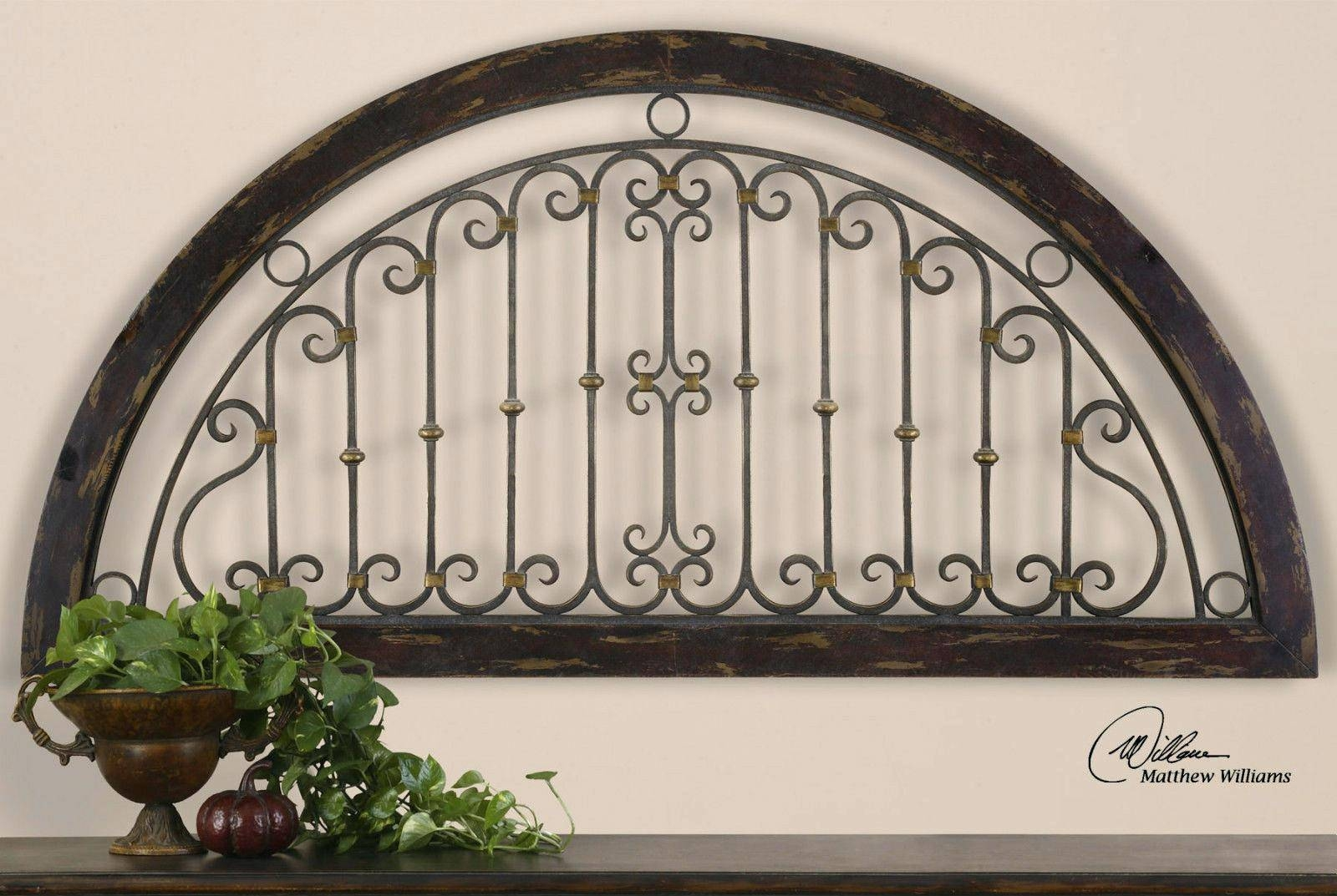 Wall Ideas: Metal Gate Wall Decor (View 7 of 25)