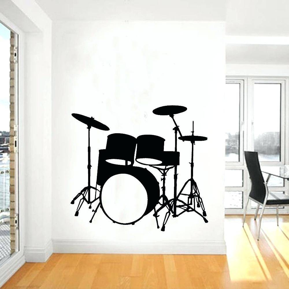 Wall Ideas : Metal Musical Wall Art Decor Musical Notes Wall Regarding  Recent Music Theme Wall