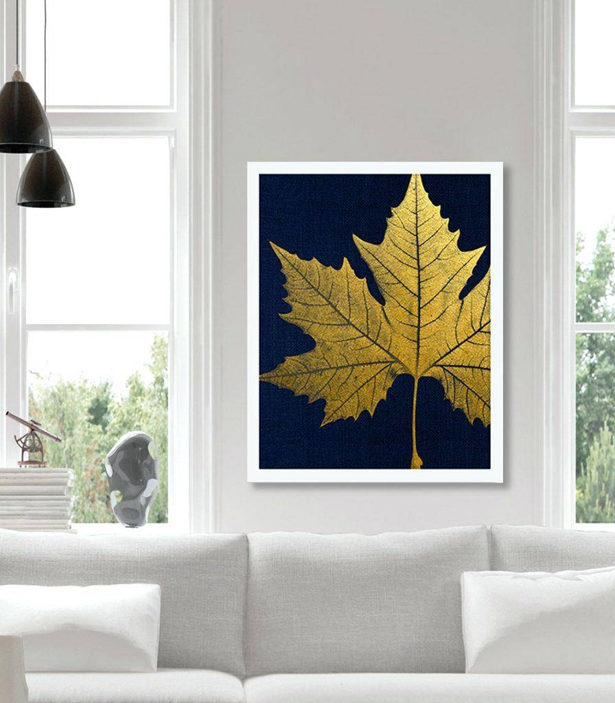 Wall Ideas : Metal Palm Leaf Wall Art Birch And Sweet Gum Leaf Inside 2018 Target Metal Wall Art (View 16 of 25)