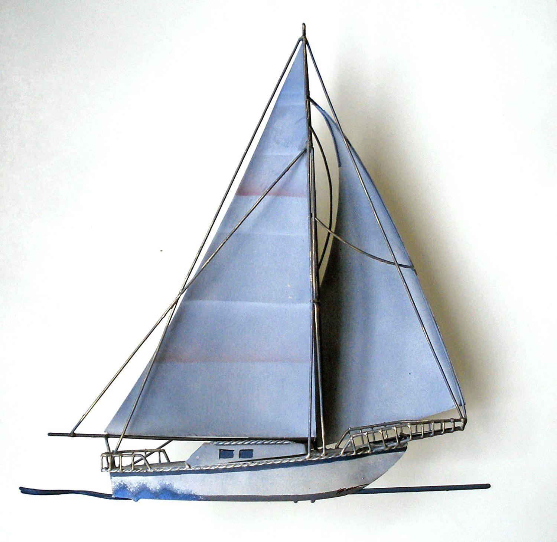Wall Ideas: Metal Sailboat Wall Art (View 13 of 30)