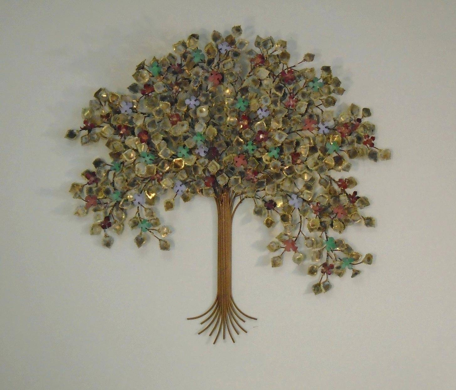 Wall Ideas: Metal Tree Wall Decor. Metal Tree Wall Decor (View 24 of 30)